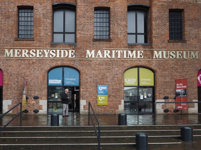 Museo marítimo de Merseyside en Liverpool imagen de archivo