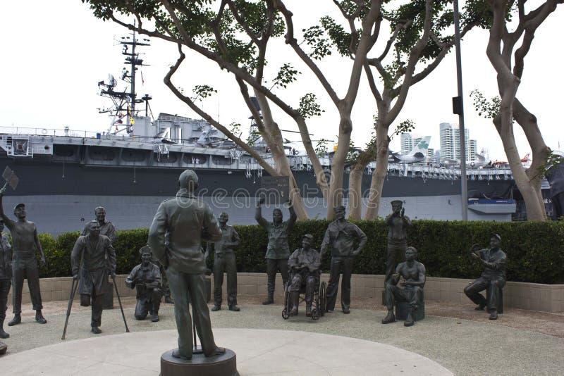 Museo marítimo de San Diego foto de archivo libre de regalías