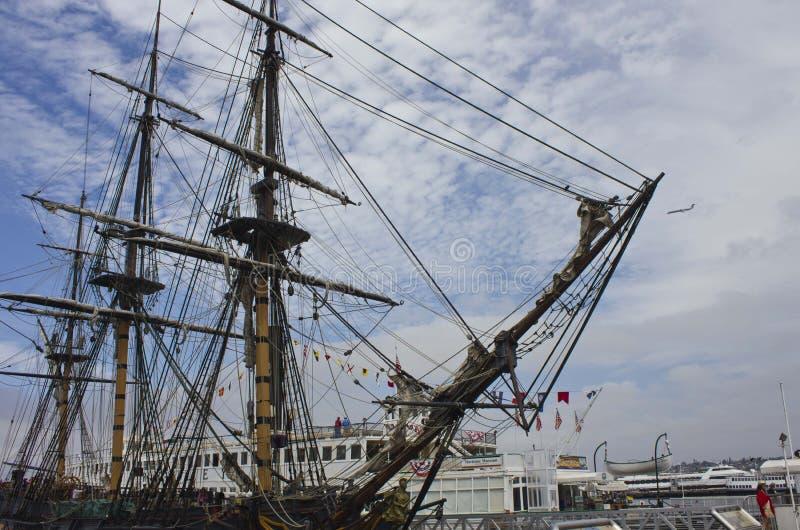 Museo marítimo de San Diego fotos de archivo libres de regalías