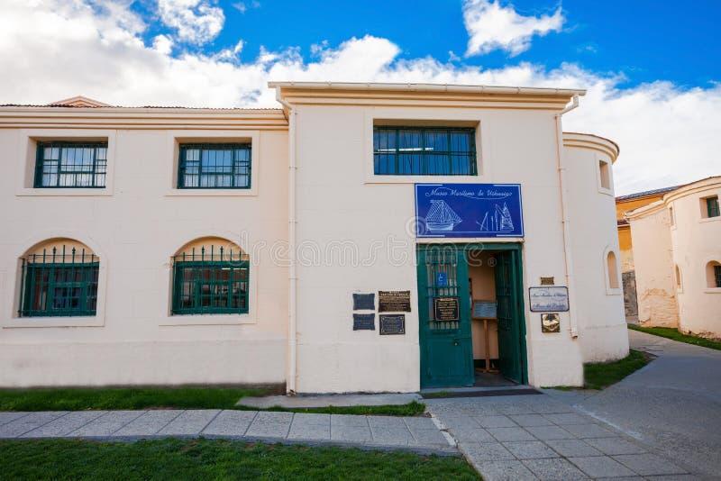 Museo marítimo de Ushuaia, la Argentina imágenes de archivo libres de regalías