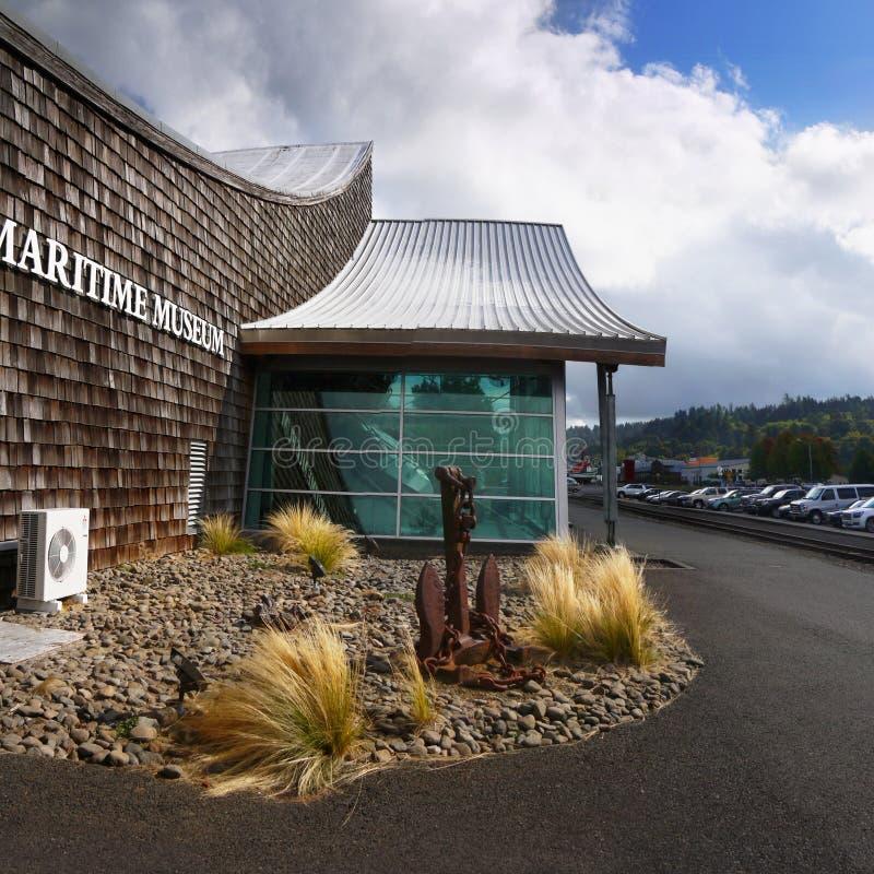 Museo marítimo del río Columbia, Astoria Oregon fotos de archivo libres de regalías