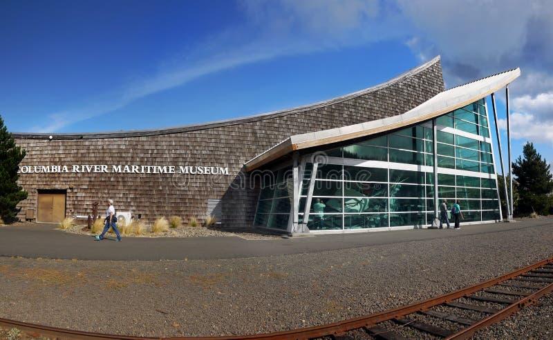 Museo marítimo del río Columbia, Astoria Oregon fotografía de archivo