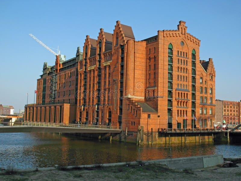 Museo marítimo en Hamburgo fotos de archivo libres de regalías