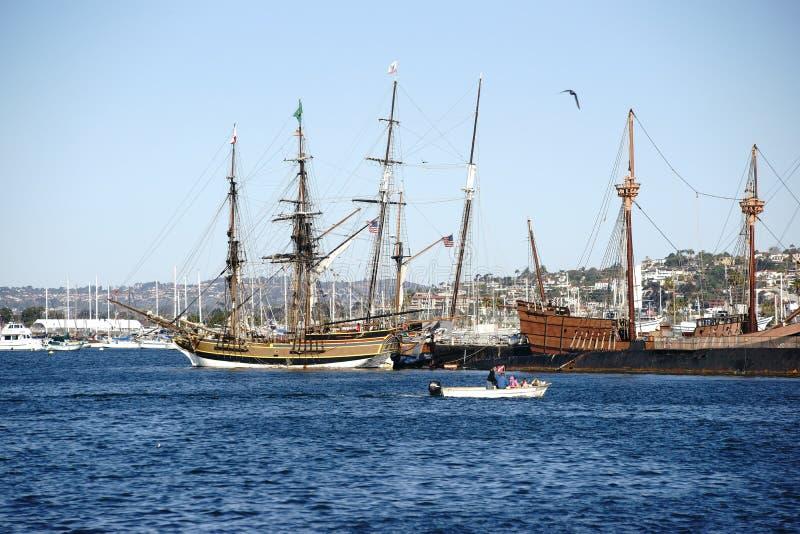 Museo marítimo San Diego fotos de archivo