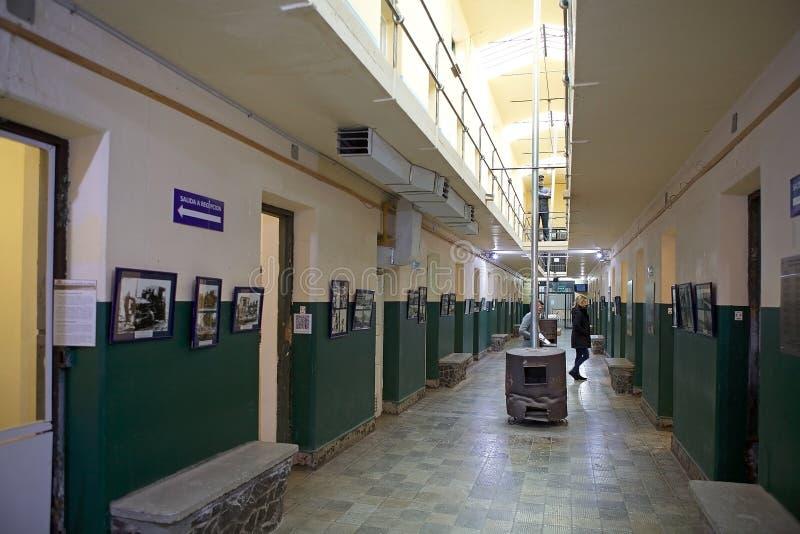 Maritime, Prison and Antarctic Museum in Ushuaia, Argentina. Museo Maritimo y del Presidio de Ushuaia, Argentina. Maritime, Prison and Antarctic Museum is royalty free stock photos