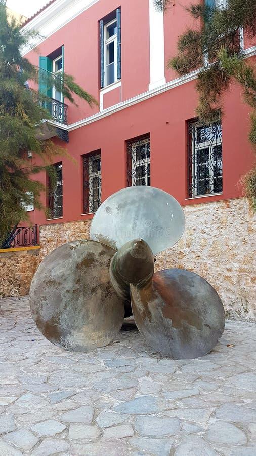 Museo marittimo di Creta, chania immagine stock