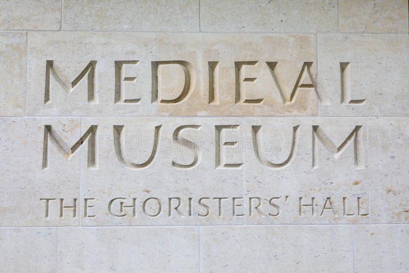 Museo medieval en Waterford foto de archivo libre de regalías