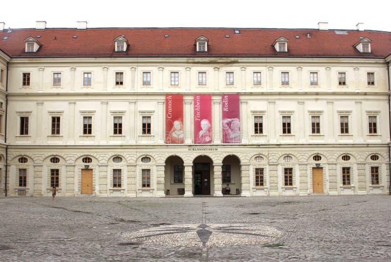 Museo medievale del castello a Weimar immagine stock libera da diritti