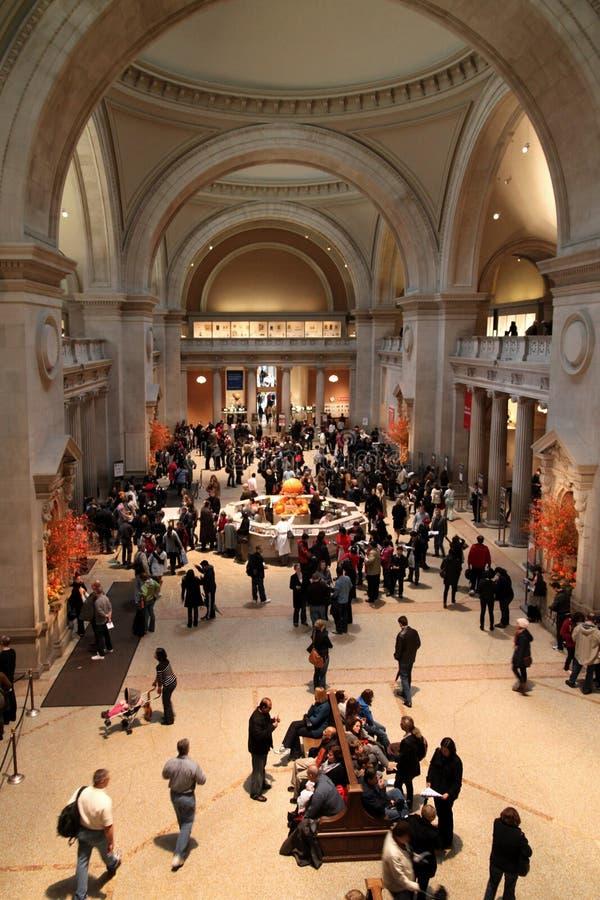 Museo metropolitana gran pasillo, Nueva York foto de archivo libre de regalías