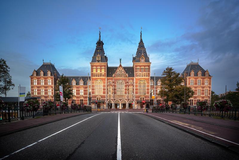 Museo Nacional Amsterdam fotos de archivo libres de regalías