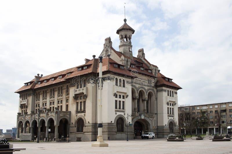 Museo nacional Constanta de la historia y de la arqueología foto de archivo libre de regalías