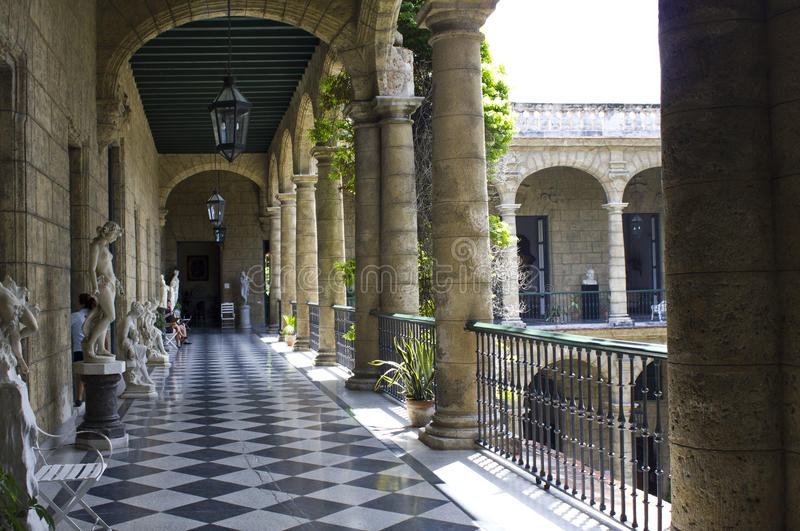 Museo Nacional cubano de bellas arte, La Habana fotografía de archivo libre de regalías