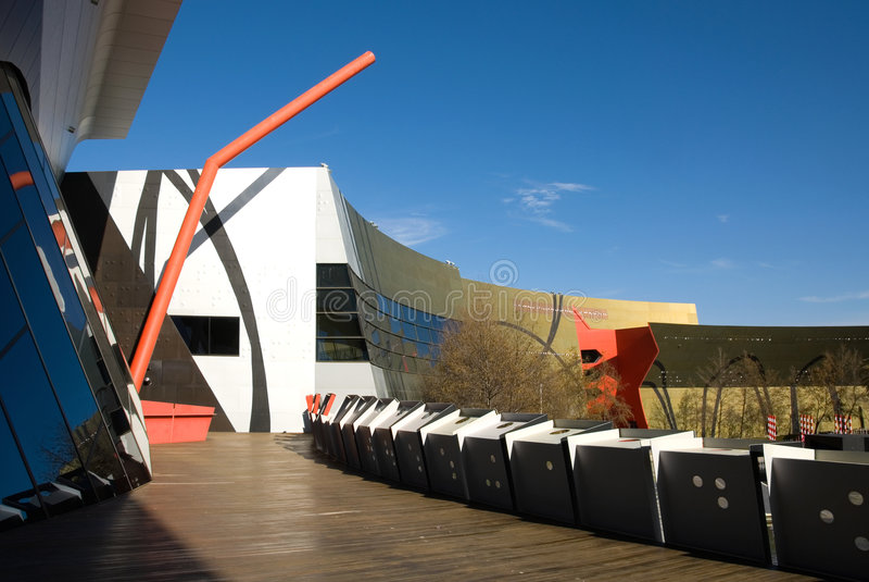 Museo Nacional de Australia foto de archivo