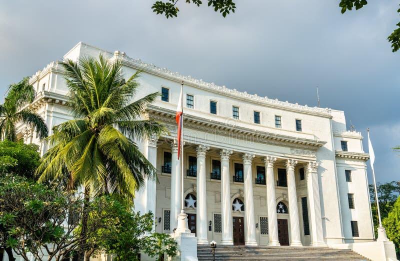 Museo Nacional de la antropología en Manila, Filipinas imagen de archivo libre de regalías