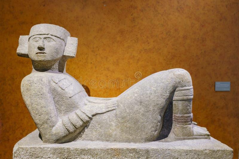 Museo Nacional de la antropología (Museo Nacional de Antropologia, fotos de archivo