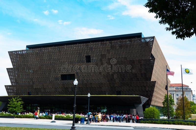Museo Nacional de la historia afroamericana en Washington, DC fotografía de archivo