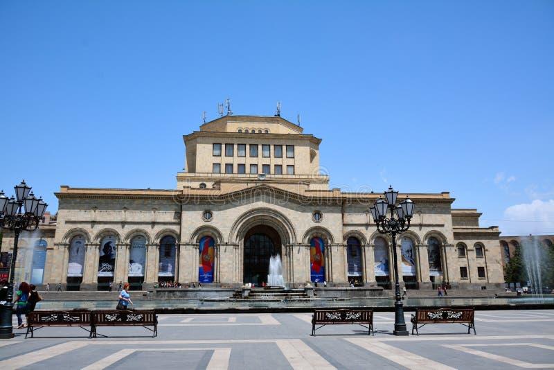 Museo nacional de la historia de Armenia imagen de archivo