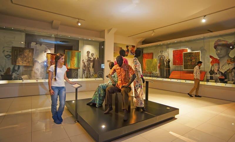 MUSEO NACIONAL DE LA MATERIA TEXTIL - KUALA LUMPUR fotos de archivo