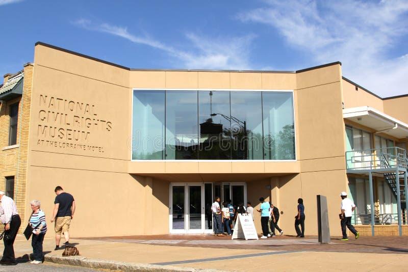 Museo nacional de las derechas civiles, Memphis Tennessee. foto de archivo libre de regalías