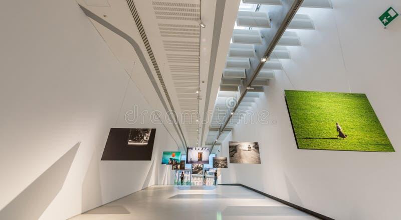 Museo Nacional de MAXXI XXI de los artes del siglo - pinturas fotografía de archivo libre de regalías