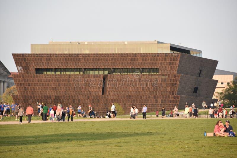 Museo Nacional de Smithsonian de la historia afroamericana y de la cultura en Washington DC fotografía de archivo libre de regalías