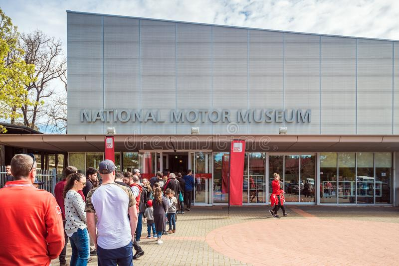 Museo nacional del motor del sur de Australia fotografía de archivo