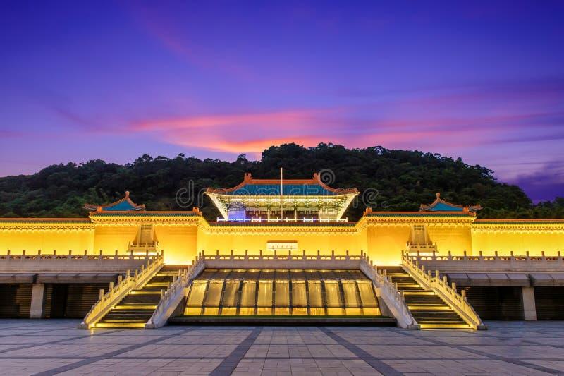 Museo nacional del palacio de Taipei imagen de archivo libre de regalías