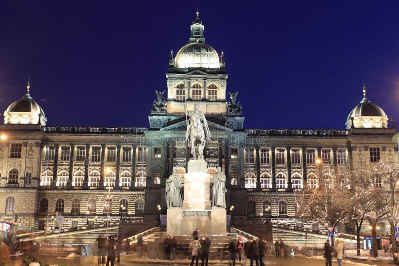 Museo Nacional en Praga imágenes de archivo libres de regalías