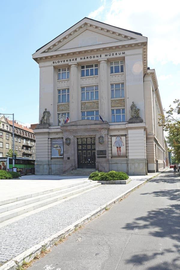 Museo Nacional eslovaco fotos de archivo libres de regalías