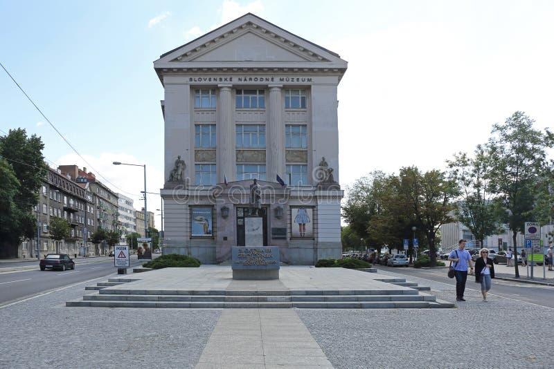 Museo Nacional eslovaco foto de archivo libre de regalías