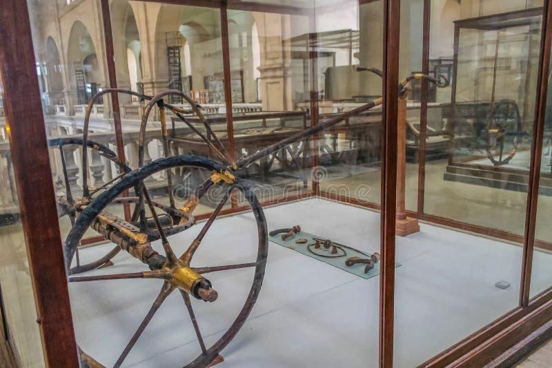 Museo nacional Expans de El Cairo dedicado a Egipto antiguo, a los Pharaohs, a las momias y a las pirámides egipcias fotos de archivo libres de regalías