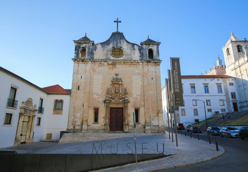 Museo Nacional Machado de Castro en Coímbra, Portugal fotografía de archivo