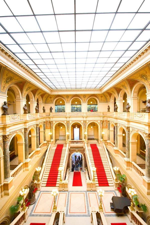 Museo Nacional, Praga fotografía de archivo