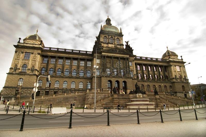 Museo Nacional, Praga fotografía de archivo libre de regalías