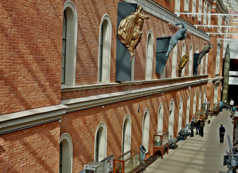 Museo navale centrale a St Petersburg immagine stock