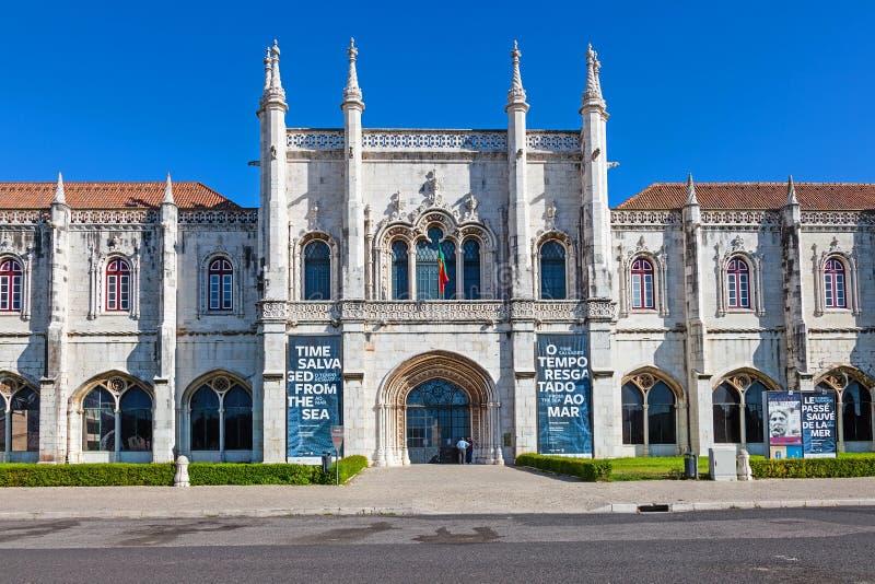 Museo nazionale dell'archeologia Lisbona fotografia stock