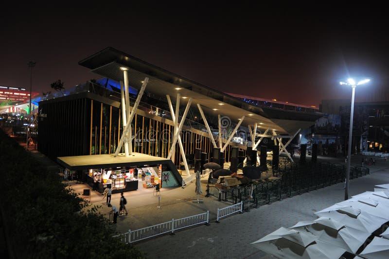 Museo nazionale 2010 dell'Expo del mondo della Cina Shanghai della Nuova Zelanda fotografie stock libere da diritti