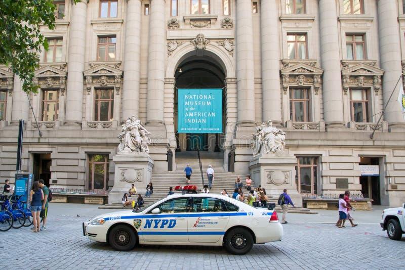 Museo nazionale dell'indiano americano immagini stock libere da diritti
