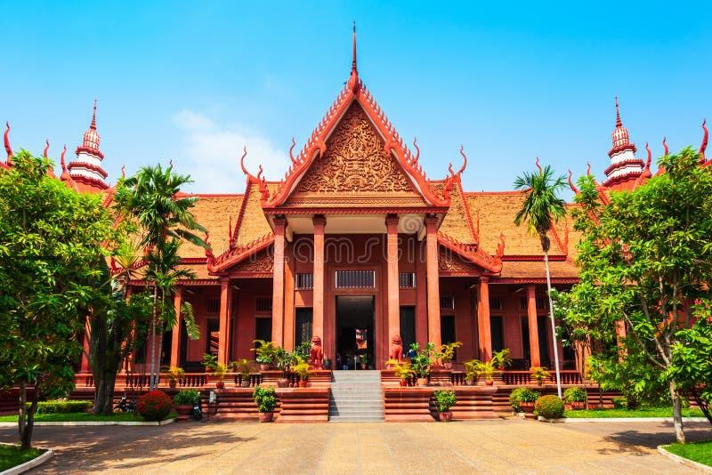 Museo nazionale della Cambogia, Phnom Penh fotografia stock