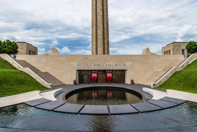 Museo nazionale della prima guerra mondiale immagine stock libera da diritti