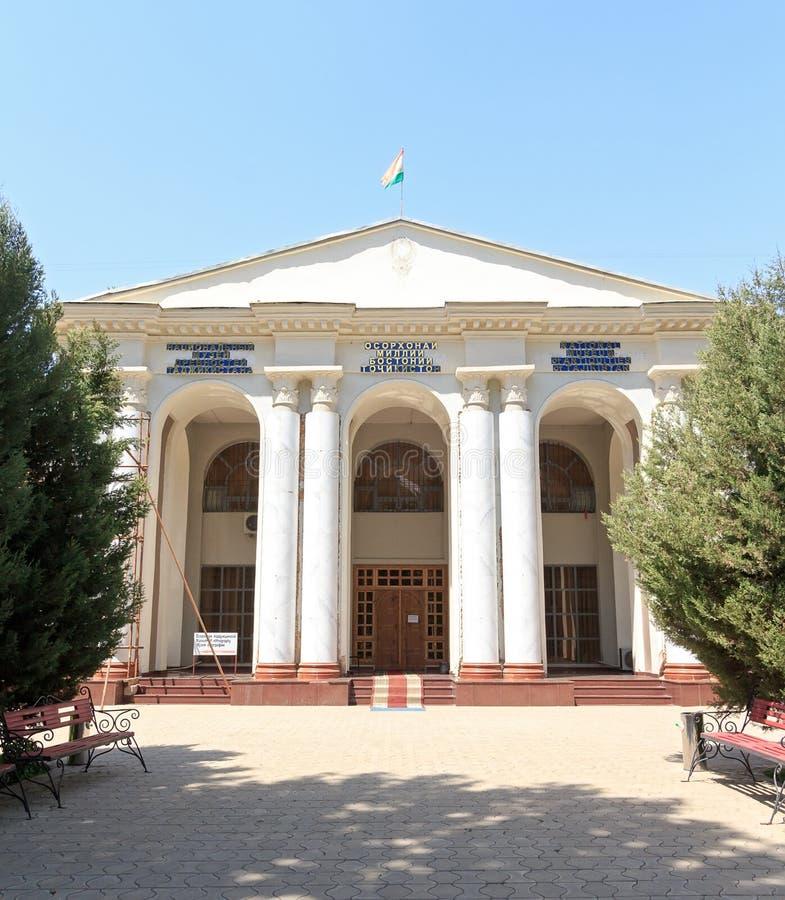 Museo nazionale delle antichità del Tagikistan Dušanbe, Tajikist immagini stock libere da diritti