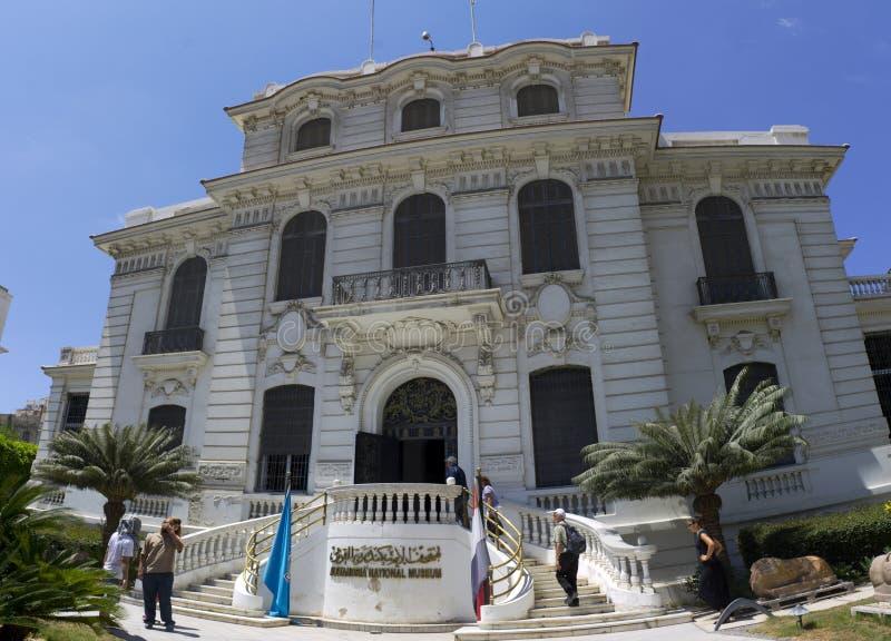 Museo Nazionale di Alessandria fotografia stock libera da diritti
