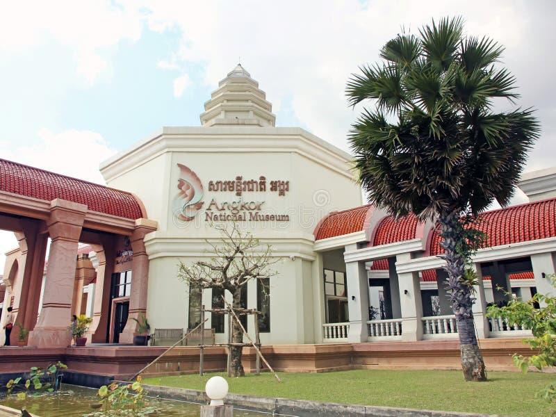 Museo nazionale di Angkor immagini stock libere da diritti