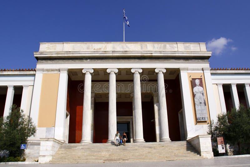 Museo Nazionale di Atene fotografie stock