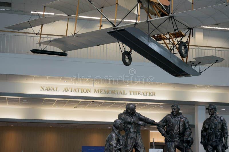 Museo nazionale di aviazione navale, Pensacola, Florida immagine stock libera da diritti