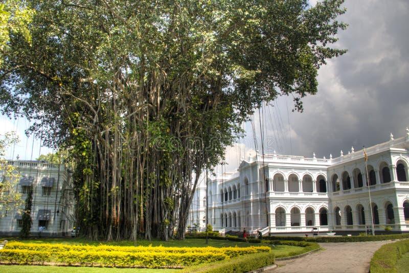Museo nazionale di Colombo, Sri Lanka fotografia stock