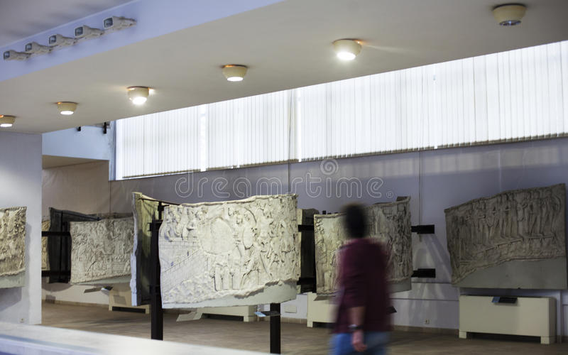 Museo nazionale di storia - Bucarest immagini stock libere da diritti