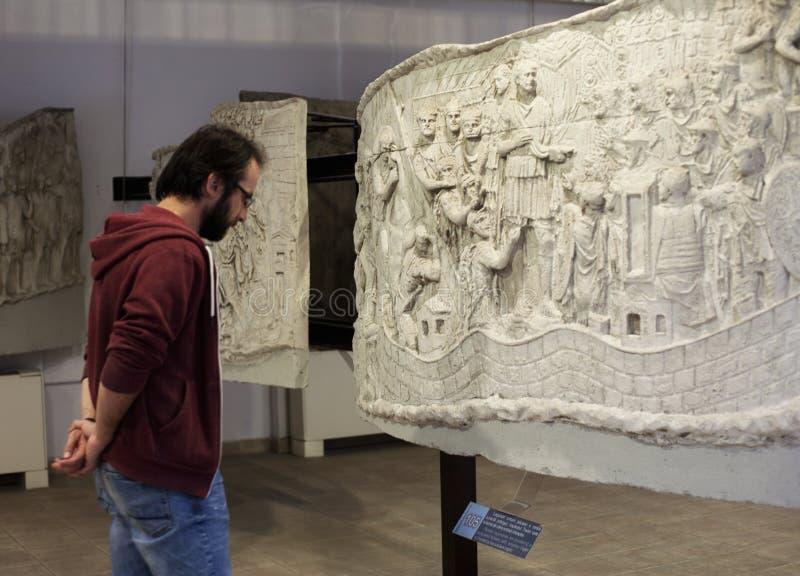 Museo nazionale di storia - Bucarest immagini stock
