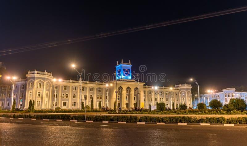Museo nazionale in Dušanbe, la capitale di Bekhzod del Tagikistan immagine stock libera da diritti