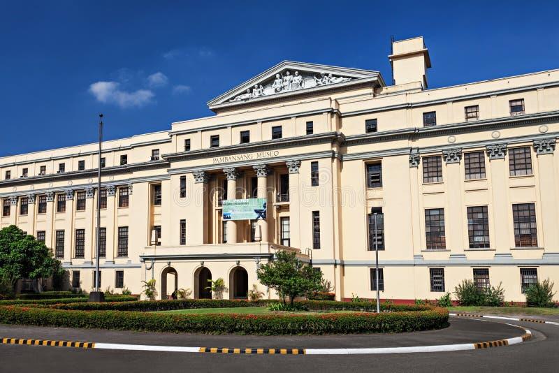 Museo Nazionale filippino immagini stock libere da diritti